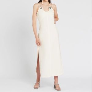 3.1 PHILLIP LIM Strappy Crepe Midi Dress 4
